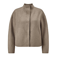 Buy Selected Femme Elga Cropped Jacket, Silver Lining Online at johnlewis.com
