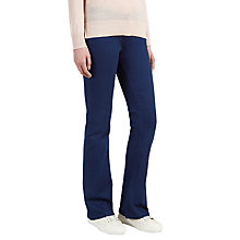 Buy Selected Femme Annie Flared Jeans, Dark Blue Denim Online at johnlewis.com