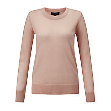 Buy Selected Femme Mero Merino Wool Jumper, Cameo Rose Online at johnlewis.com