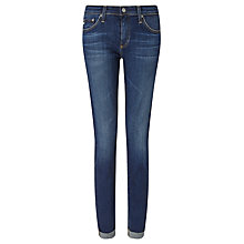 Buy AG The Stilt Roll Up Cropped Jeans, 7 Years Break Online at johnlewis.com
