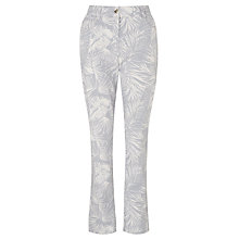 Buy Gardeur Zuri Slim Fit Printed Jeans, Pale Blue Online at johnlewis.com