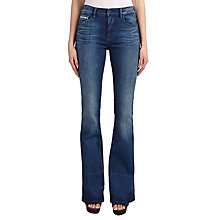 Buy Calvin Klein Flared Jeans, Sassoon Blue Stretch Online at johnlewis.com