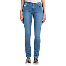 Buy Calvin Klein Mid Rise Slim Jeans, Mid Eighties Blue Stretch Online at johnlewis.com