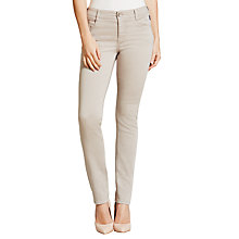 Buy Gardeur Zuri Slim Fit Jeans, Soft Grey Online at johnlewis.com