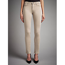 Buy AG The Sateen Prima Skinny Jeans, Sulfur Coyote Online at johnlewis.com