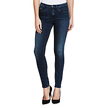 Buy Calvin Klein High Rise Skinny Jeans, Blue Crush Stretch Online at johnlewis.com