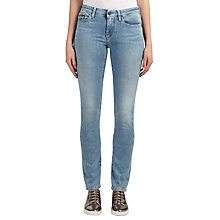Buy Calvin Klein Mid Rise Slim Jeans, Blue Dusk Stretch Online at johnlewis.com