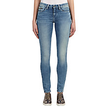 Buy Calvin Klein Mid Rise Skinny Jeans, Blue River Stretch Online at johnlewis.com