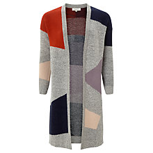 Buy Selected Femme Minda Printed Knitted Cardigan, Multi Online at johnlewis.com