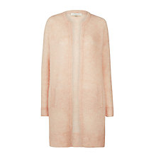 Buy Selected Femme Liva Longline Cardigan, Cameo Rose Online at johnlewis.com