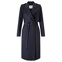 Buy Selected Femme Tana Trench Coat, Dark Navy Online at johnlewis.com
