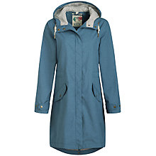 Buy Seasalt RAIN® Collection Hellweathers Mac, Light Indigo Online at johnlewis.com