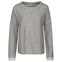 Buy Seasalt Beam Sweat Sweatshirt, Gravel Online at johnlewis.com