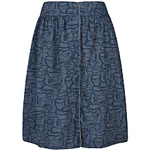 Buy Seasalt Folklore Skirt, Leach Pots Indigo Online at johnlewis.com