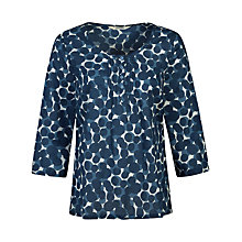 Buy Seasalt Pendower Cove Top, Glaze Spot Ecru Online at johnlewis.com