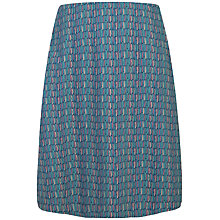Buy Seasalt Portfolio Reversible A-Line Skirt, Ink Stripes Galley Online at johnlewis.com