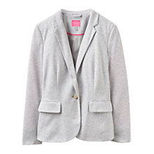 Buy Joules Mollie Jersey Blazer, Grey Marl Online at johnlewis.com