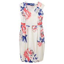 Buy Joules Helena Dress, White Rose Online at johnlewis.com