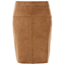 Buy Max Studio Suedette Skirt, Vicuna Online at johnlewis.com