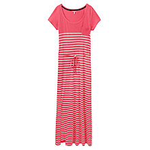 Buy Joules Shona Jersey Maxi Dress, Neon Candy Stripe Online at johnlewis.com