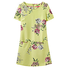 Buy Joules Ianthe Printed Tunic Dress, Lime Floral Online at johnlewis.com