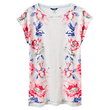 Buy Joules Rosy Jersey Top, Oat Marl Rose Online at johnlewis.com