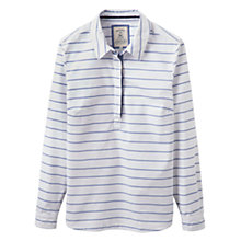 Buy Joules Clovelly Pop Over Shirt, Bright White Stripe Online at johnlewis.com
