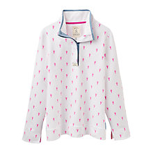 Buy Joules Coastal Cowdray Printed Sweatshirt, True Pink Lobster Online at johnlewis.com