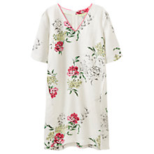 Buy Joules Kate Printed Dress, Cream Floral Online at johnlewis.com