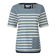 Buy Seasalt Dinnabroad Sweatshirt, Midday Tide Galley Online at johnlewis.com