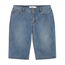 Buy Seasalt Tristan Stone Shorts, Denim Light Wash Online at johnlewis.com