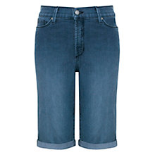 Buy NYDJ Briella Roll Up Cuff Denim Shorts, Karval Online at johnlewis.com