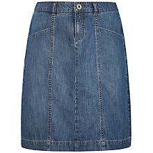 Buy Seasalt Water's Edge Denim Skirt, Denim Online at johnlewis.com