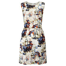 Buy BOSS Orange Ameschy1 Printed Dress, Multi Online at johnlewis.com