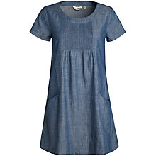 Buy Seasalt Hermit's Hut Dress, Indigo Wash Online at johnlewis.com