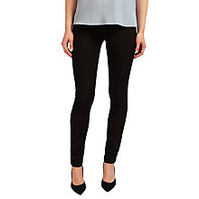 Buy BOSS Orange J20 Mid Rise Slim Leg Jeans, Black Online at johnlewis.com