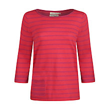 Buy Seasalt Mabel Stripe Jumper, Dinghy Coulis Online at johnlewis.com