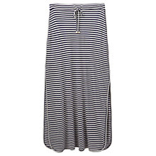 Buy Joules Cianne Jersey Maxi Skirt, Navy Stripe Online at johnlewis.com