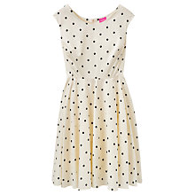 Buy Joules Amelie Dress, Black Spot Online at johnlewis.com