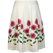 Buy Seasalt Palette Skirt, Painted Flower Salt Online at johnlewis.com