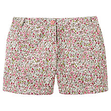 Buy Joules Brooke Floral Print Shorts, Pink Ditsy Online at johnlewis.com