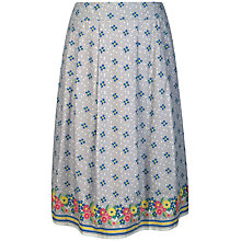 Buy Seasalt Prussia Cove Skirt, Confetti Flowers Cobble Online at johnlewis.com