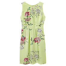 Buy Joules Laura Dress, Lime Floral Online at johnlewis.com