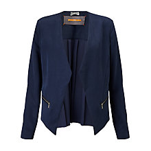 Buy BOSS Orange Ocuty Edge To Edge Jacket, Dark Blue Online at johnlewis.com