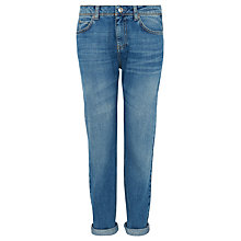 Buy Whistles Light Wash Boyfriend Jeans, Denim Online at johnlewis.com