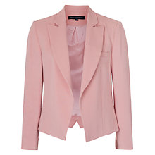 Buy French Connection Rikki Crepe Blazer, Rose Tan Online at johnlewis.com