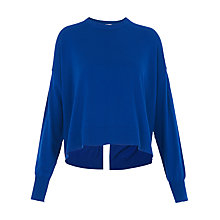 Buy Whistles Split Back Jumper Online at johnlewis.com