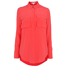 Buy Whistles Military Silk Shirt Online at johnlewis.com