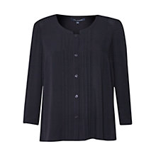 Buy French Connection Empire Dot Embroidered Blouse Online at johnlewis.com