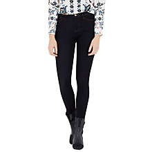 Buy Warehouse Powerhold Dark Wash Skinny Jeans, Blue Online at johnlewis.com
